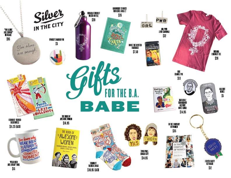 Gifts for B.A. Babes