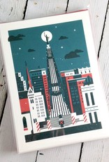 Holiday Monument Cards by Marco Boulais Set of 10