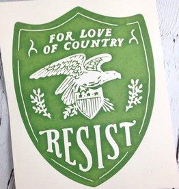 Resist Print