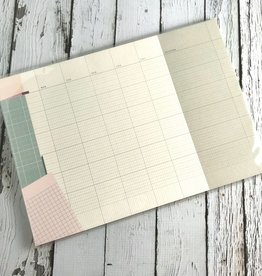 Monthly Collage A4 Desk Pad