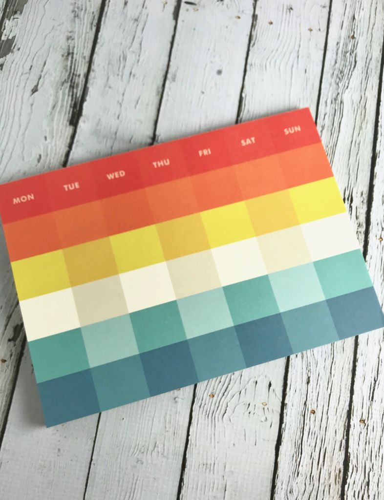 Sound of Music Palette Monthly Pad