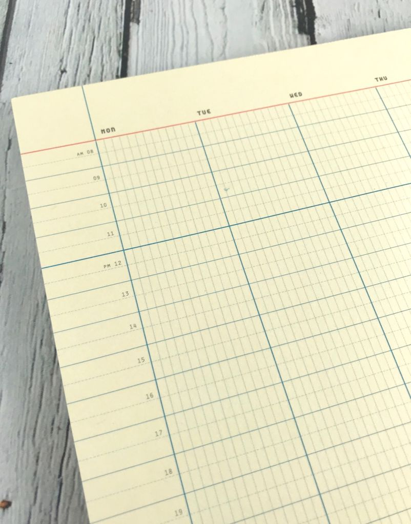 Weekly Organizer A4 Desk Pad