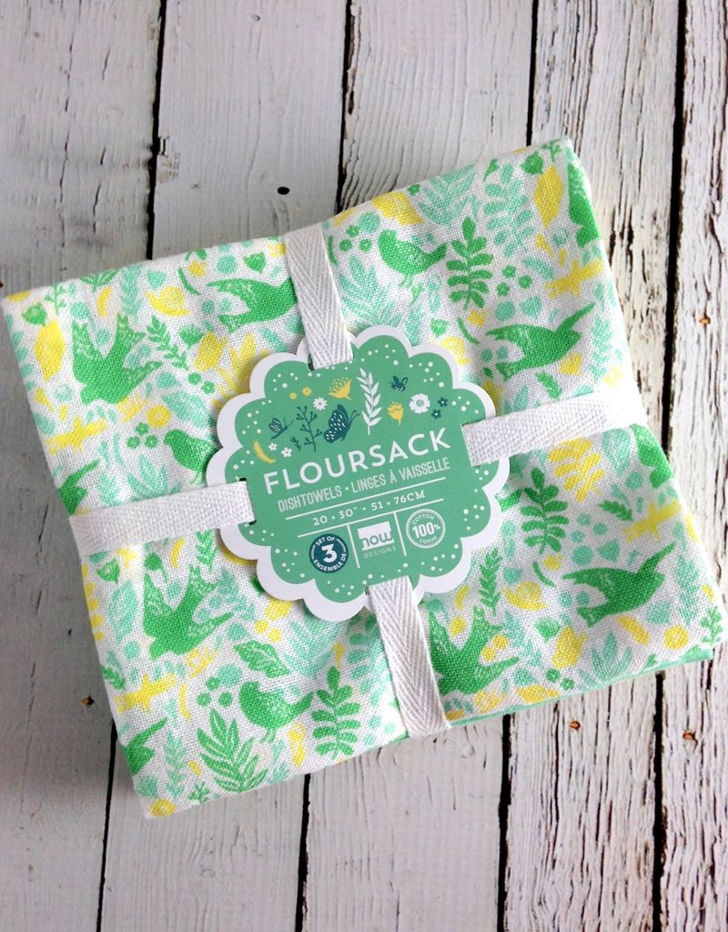 Meadowlark Floursack Dishtowels Set of 3