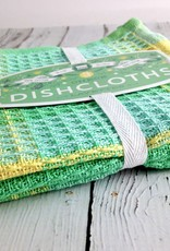 Spring Meadow Check Dishcloths Set of 3