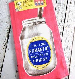 Romantic Walks Dish Towel