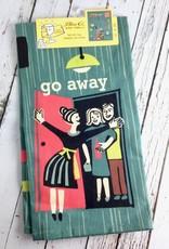 Go Away Dish Towel