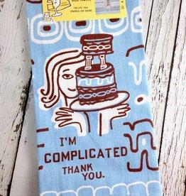I'm Complicated Dish Towel