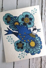 Birdland Swedish Dishcloth