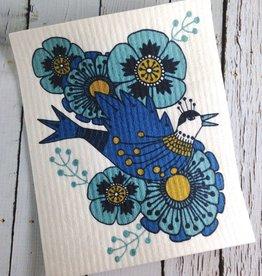 Birdland Swedish Dishcloth