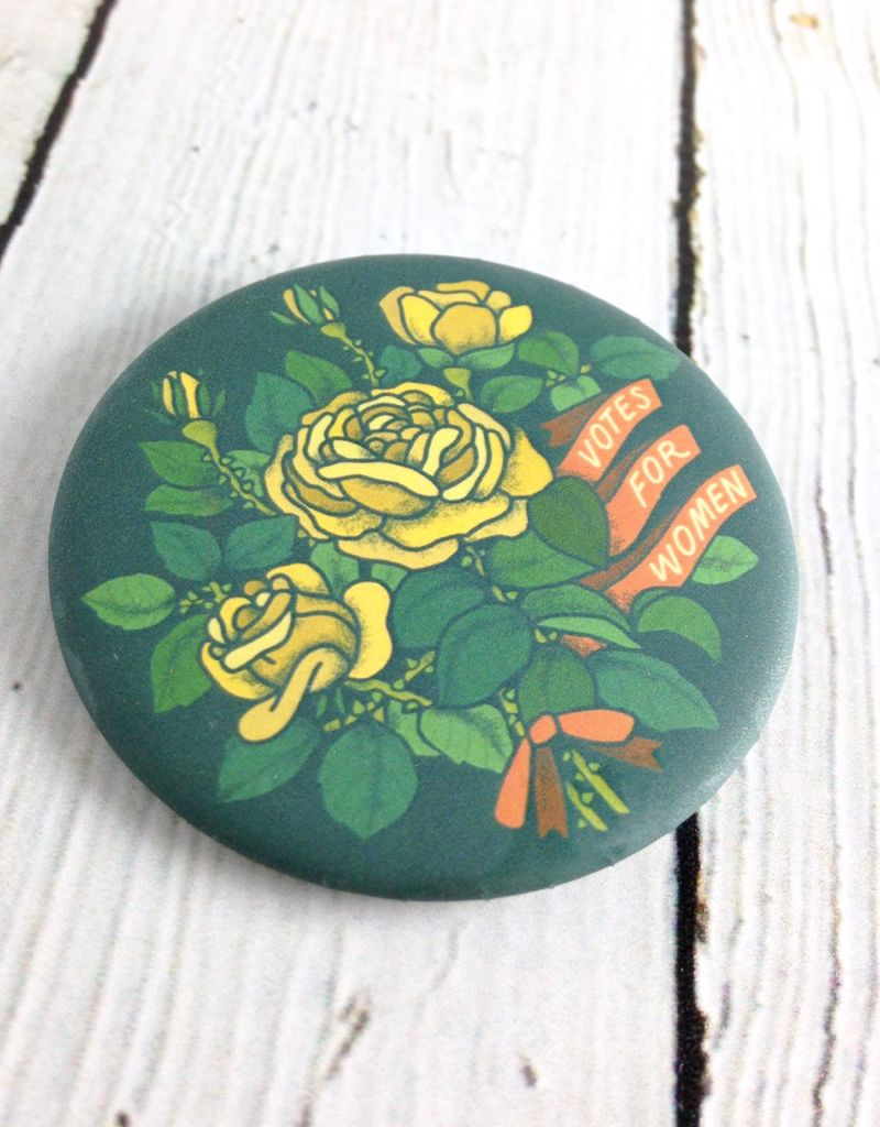 Votes for Women Pinback Button