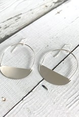 Handmade Silver Wade Earrings