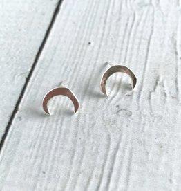Handmade Silver Neptune Earrings
