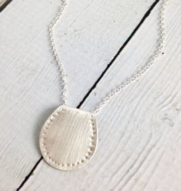 Handmade Silver Saddle Necklace