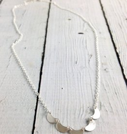 Handmade Silver Tide Necklace