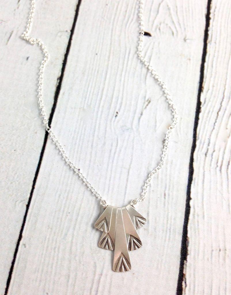 Handmade Silver Sedna Necklace