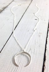 Handmade Silver Neptune Necklace