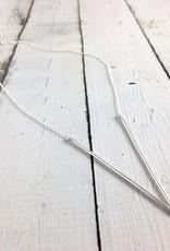 Handmade Silver Alp Necklace