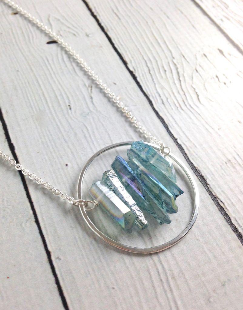 Handmade Silver Seeker Necklace