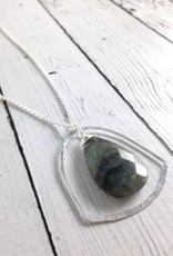 Zoe Necklace, Sterling Silver