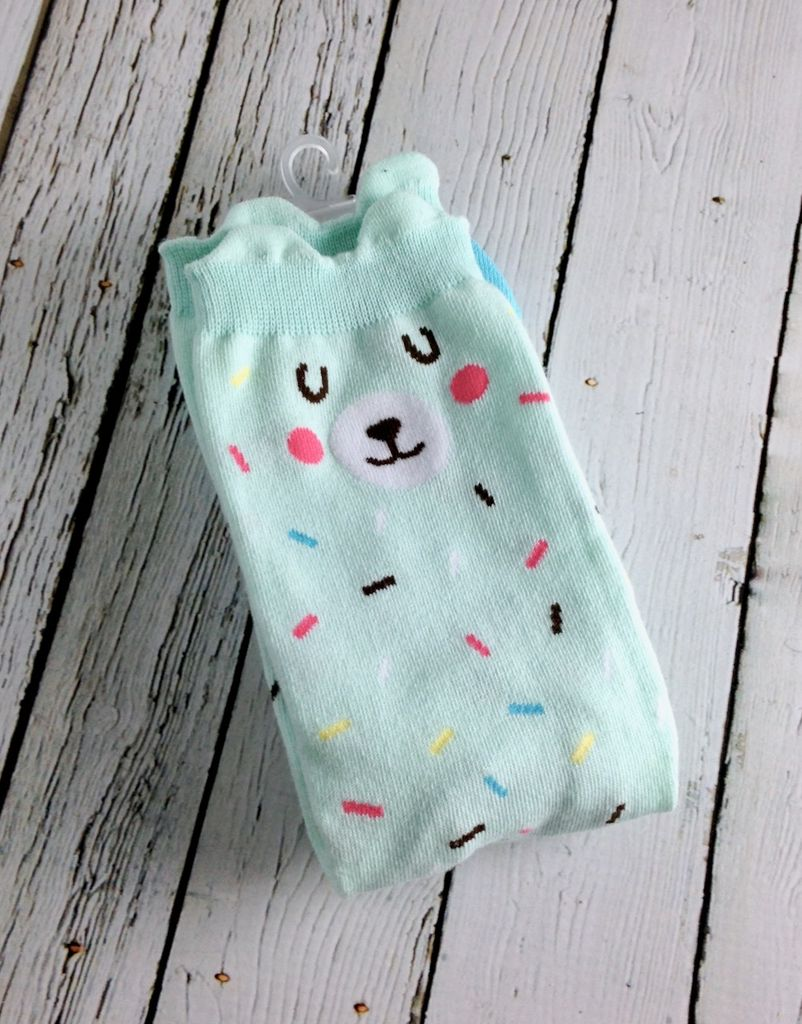 Bearly Sprinkles Women's Crew Socks
