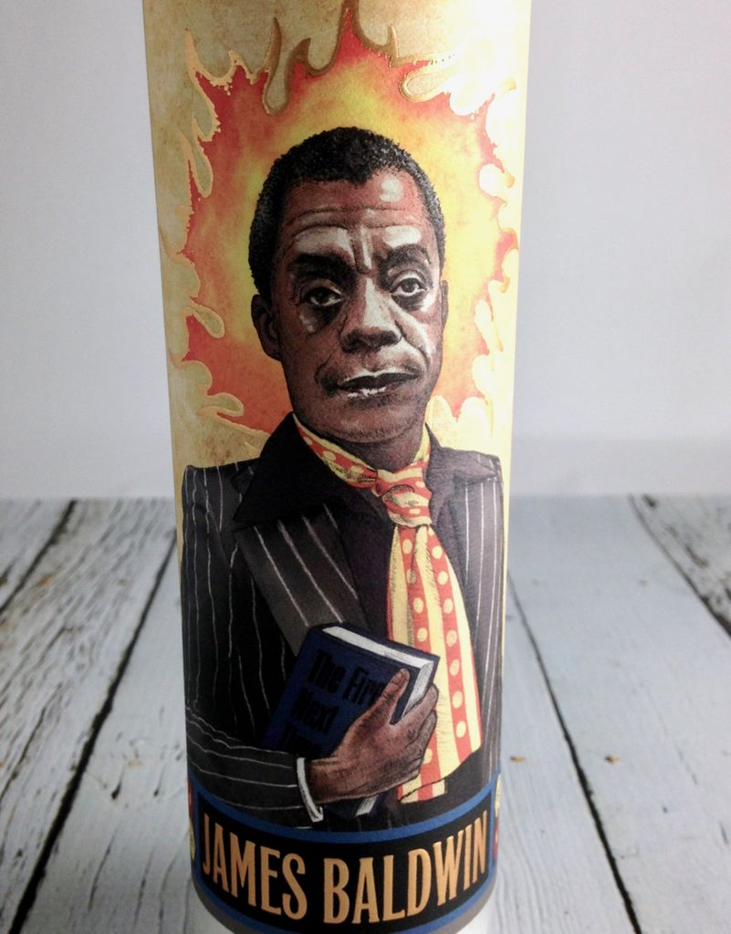 James Baldwin Secular Saint Candle
