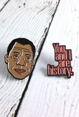 James Baldwin Enamel Pin