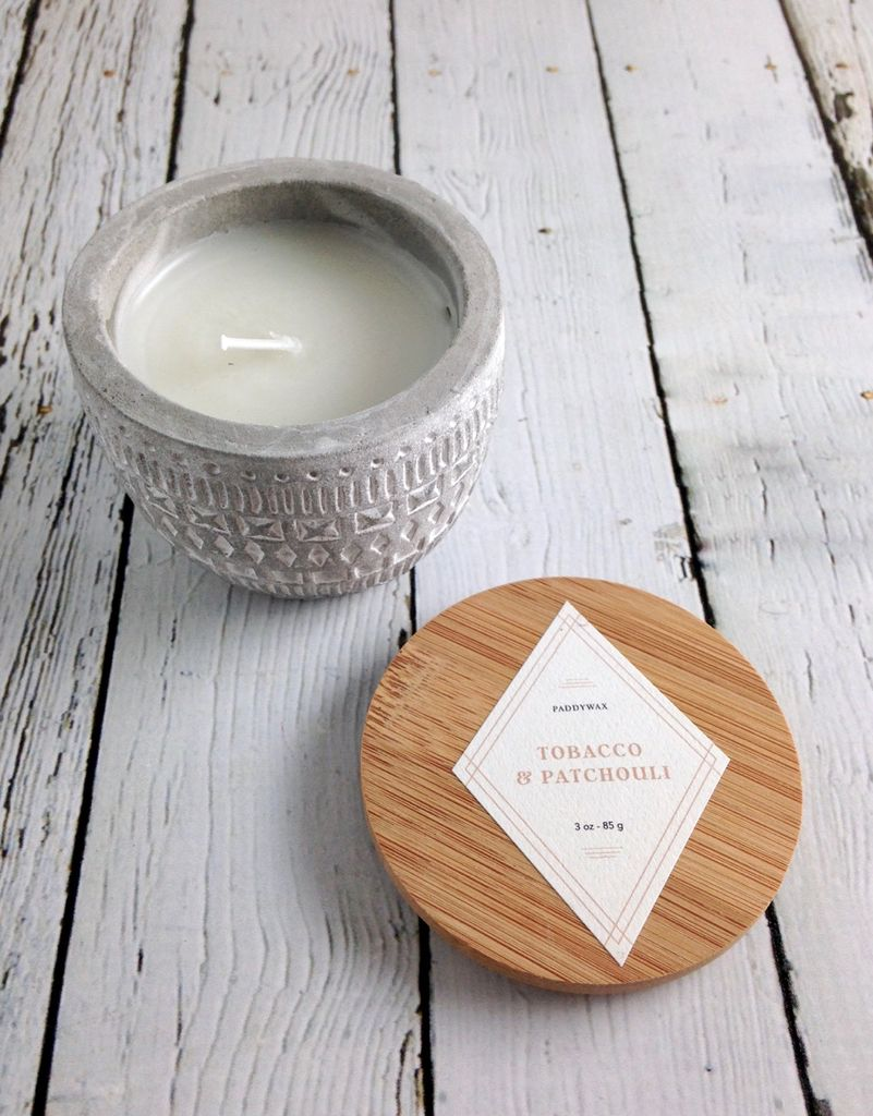 Tobacco & Patchouli 3 oz Candle