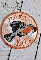 Early Bird Iron On Patch