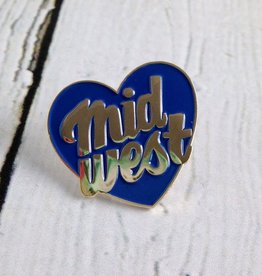 Midwest City Enamel Pin