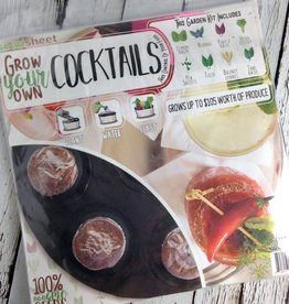 Grow Your Own: Cocktails Seedsheet