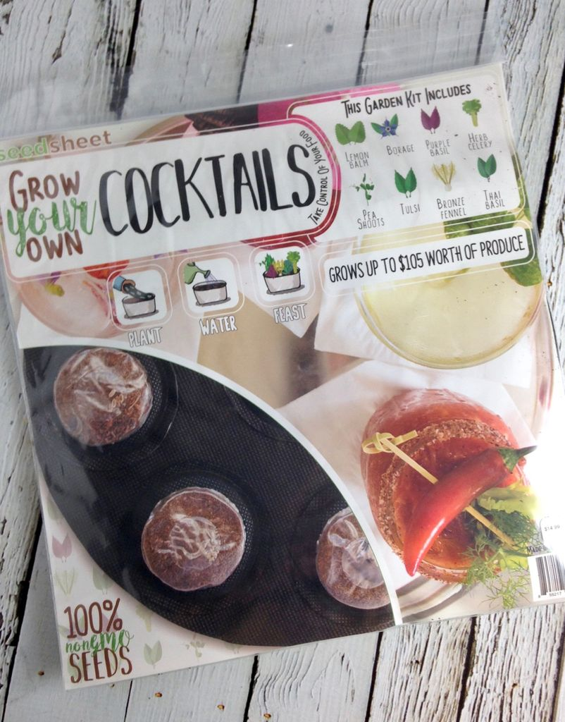 GYO Cocktails Seedsheet