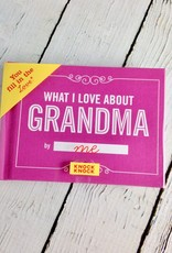 What I Love About Grandma Fill in the Love Journal