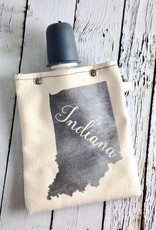 Indiana  8oz Flask