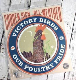 Victory Birds Garden Sign