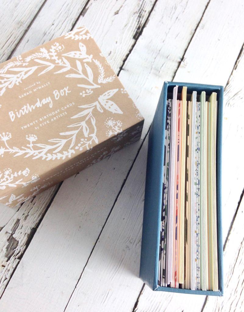 Birthday Box: Twenty Birthday Cards by Five Artists