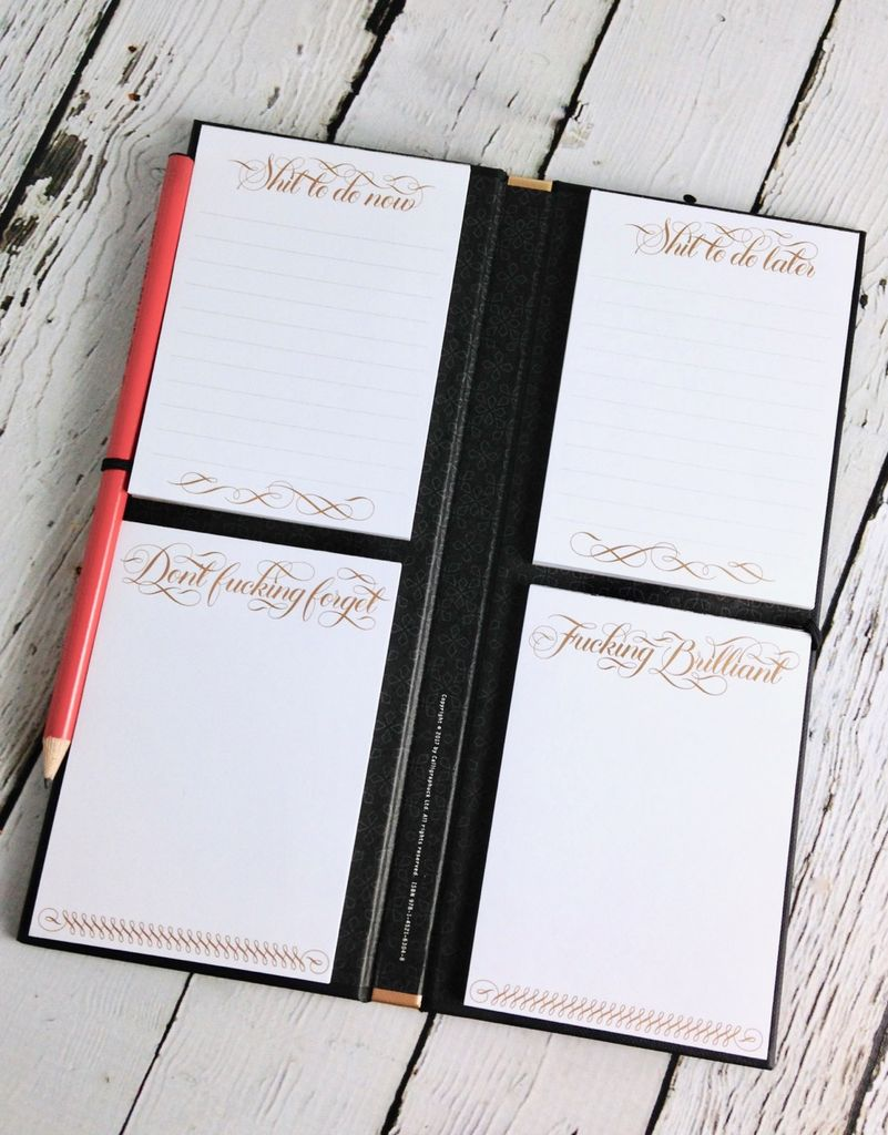 Getting Shit Done List Ledger