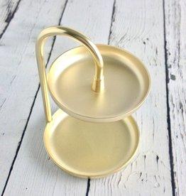 Brass Poise Ring Holder
