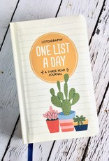 Listography: One List a Day A Three-Year Journal