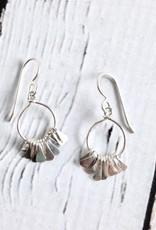 Sterling Silver Mesi Earrings