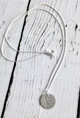Handstamped Indy 500 Charm Necklace