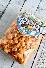 Small Bag of Just Pop In! Sun King Bavarian Cheese & Ale Pretzel Popcorn