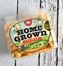 Mini Bag of Just Pop In! Indy Style Caramel & Chedder Popcorn