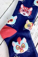 Gato Libre Men's Crew Socks