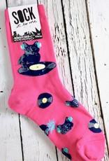 Cat Scratch Women's Crew Socks