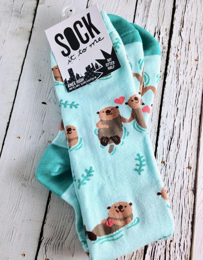 My Otter Half Knee High Socks