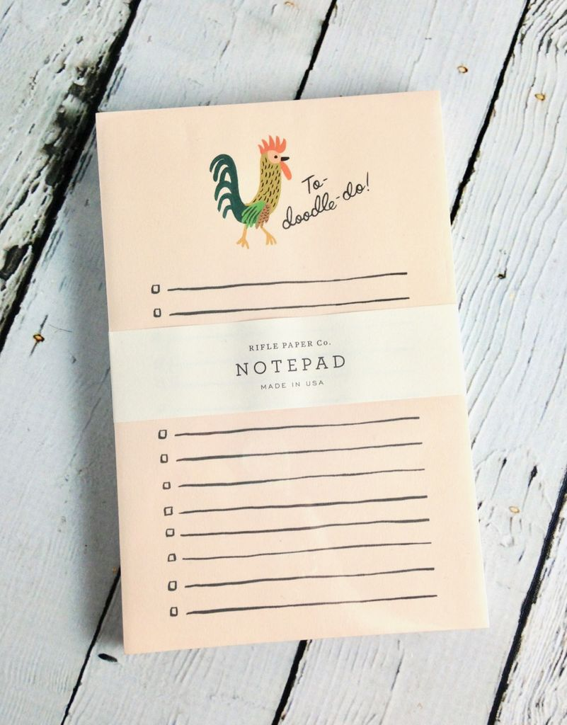 To-Doodle-Do Notepad
