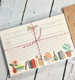 Kitchen Shelf Recipe Cards