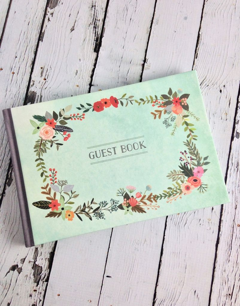 Illustrated Nature Guest Book