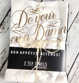 Bon Appetit, Bitches! 2 Tea Towels