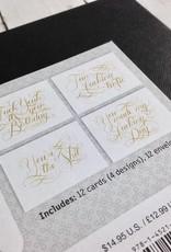 Fan-F-ing-tastic Notecards